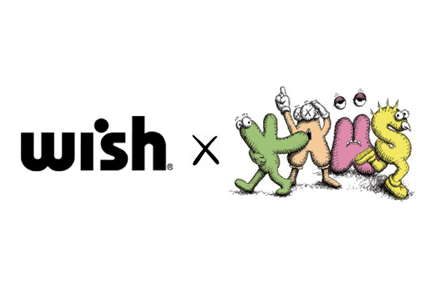 Image of Wish x KAWS 2012 Collaboration Announcement