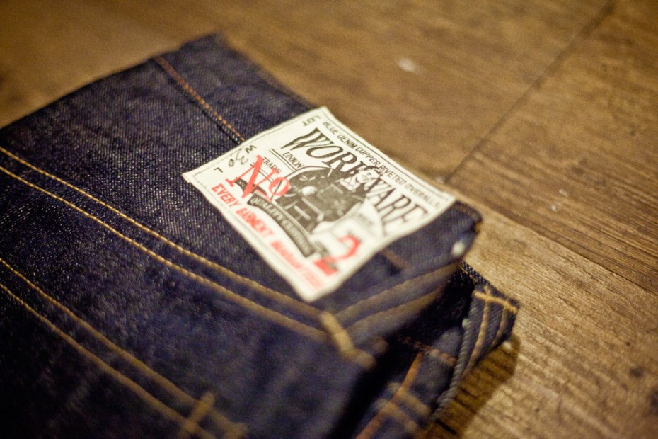 Image of Workware Heritage Clothing No.02 Denim