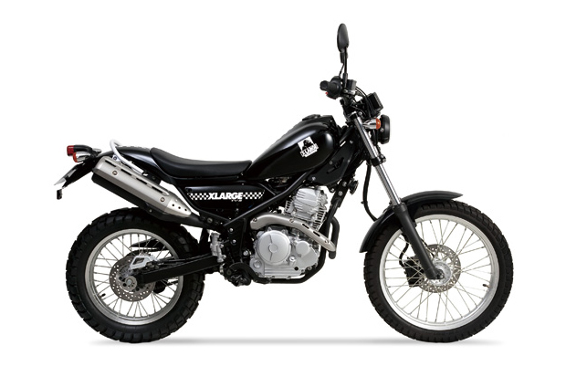 Image of XLARGE x Yamaha TY-S Motorcycle