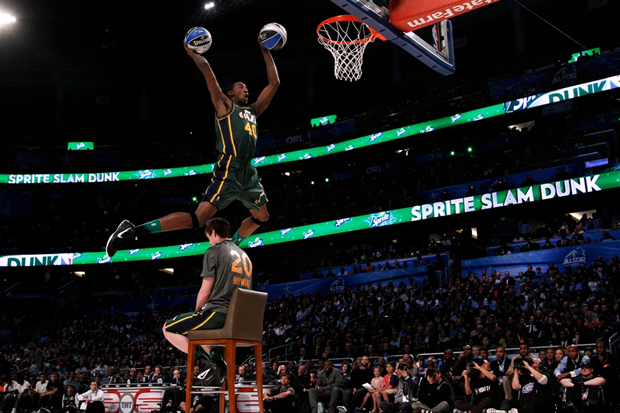 Image of 2012 NBA Slam Dunk Contest in Slow Motion HD
