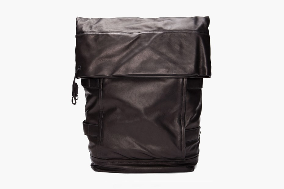 Image of 3.1 Phillip Lim 2012 Spring/Summer Black Knapsack