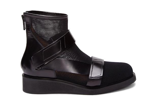 Image of 3.1 Phillip Lim Black Guerrero Mesh Boot