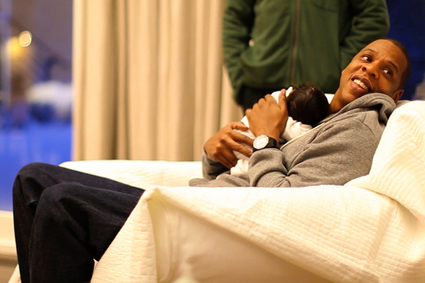Image of The Carter Family Release First Pictures of Blue Ivy Carter