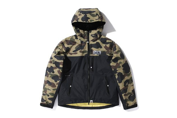 Image of A Bathing Ape 1ST CAMO PERTEX NYLON LIGHT WEIGHT JACKET