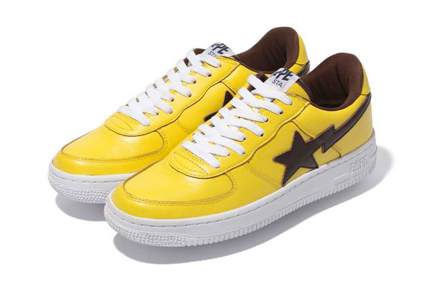 Image of A Bathing Ape LEATHER BAPE STA