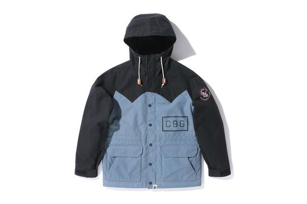 Image of A Bathing Ape OILED CLOTH MOUNTAIN PARKA