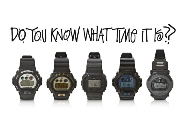 Image of A History of Stussy x G-Shock Collaborations