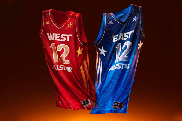 Image of adidas Basketball 2012 NBA All-Star Game Uniforms