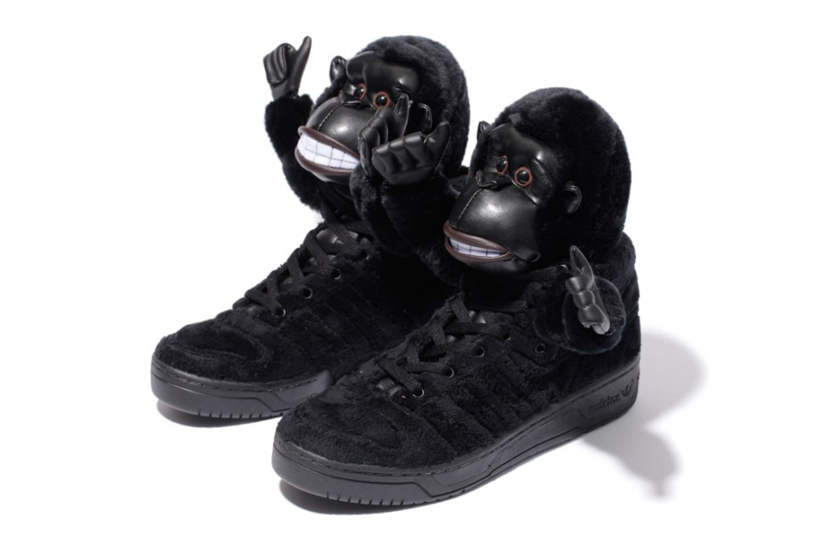Image of adidas Originals by Jeremy Scott JS GORILLA Further Look