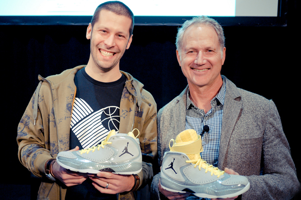 Image of Air Jordan 2012: Tom Luedecke and Tinker Hatfield