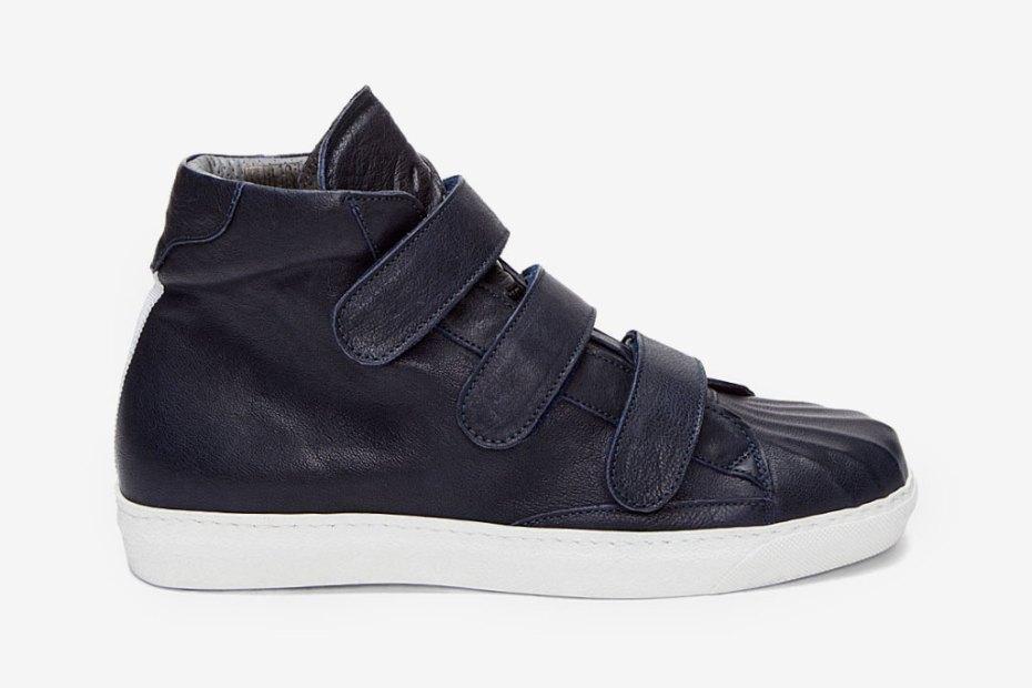 Image of Alexander McQueen 2012 Spring Dark Blue Gomm Sneakers