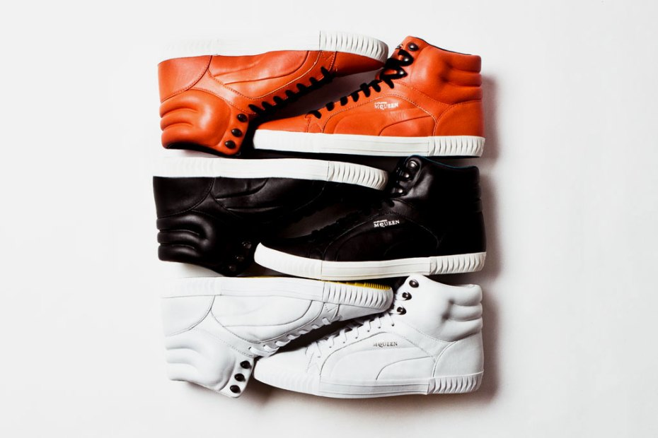 Image of PUMA by Alexander McQueen 2012 Spring/Summer Street Climb Mid Leather