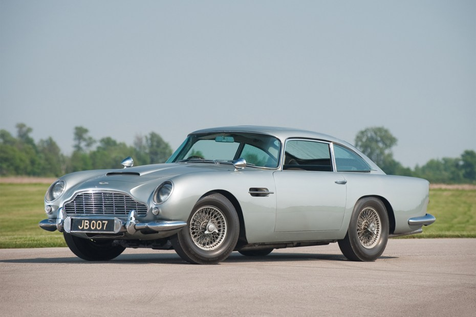 Image of Aston Martin DB5 Back for James Bond&#039;s Skyfall