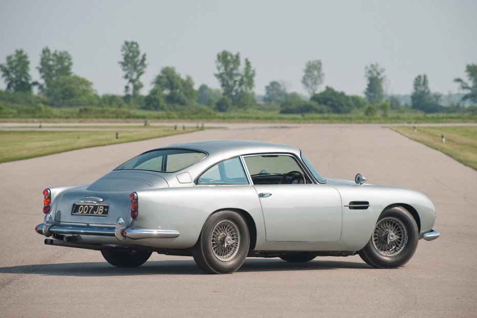 Image of Aston Martin DB5 Back for James Bond's Skyfall