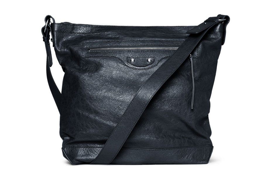 Image of Balenciaga 2012 Spring/Summer Leather Messenger Bag