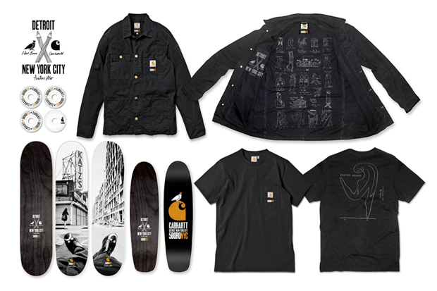 Image of Carhartt WIP x 5boro NYC 2012 Capsule Collection