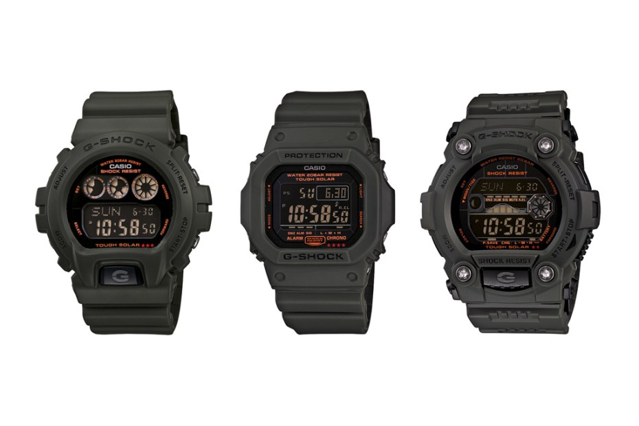 Image of Casio G-Shock 2012 Solar Military Green Capsule Collection