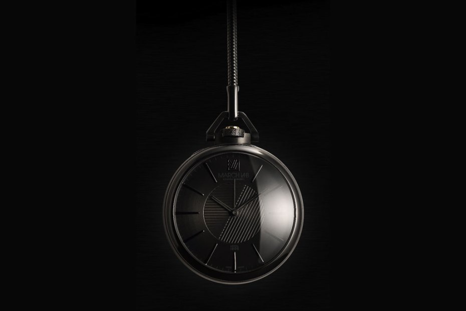 Image of colette x March LA.B 1805 Imperial Phantom Pocket Watch
