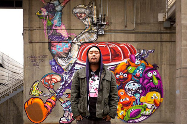 Image of David Choe on Howard Stern Interview