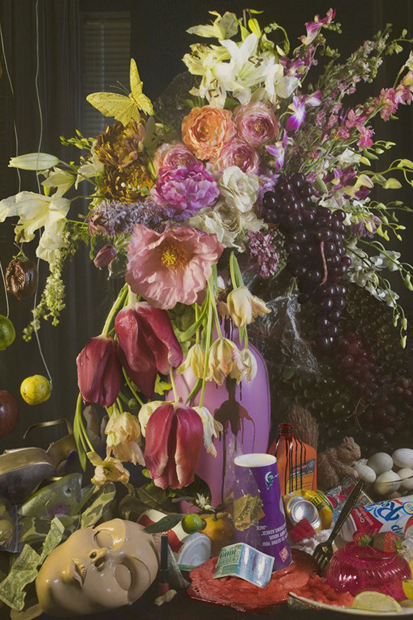 "Image of David LaChapelle ""Earth Laughs in Flowers"" Exhibition @ Robilant & Voena Gallery"