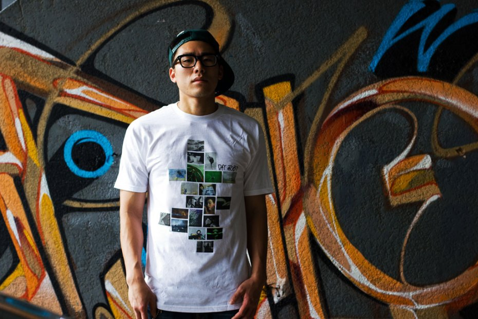 Image of Day Job? x POW WOW Hawai&#039;i 2012 x Stussy T-shirt