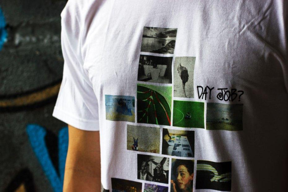 Image of Day Job? x POW WOW Hawai'i 2012 x Stussy T-shirt