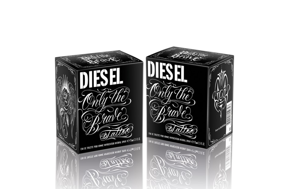 Image of Diesel Releases a New Fragrance Only the Brave Tattoo and Presents Its Tattoo Gallery
