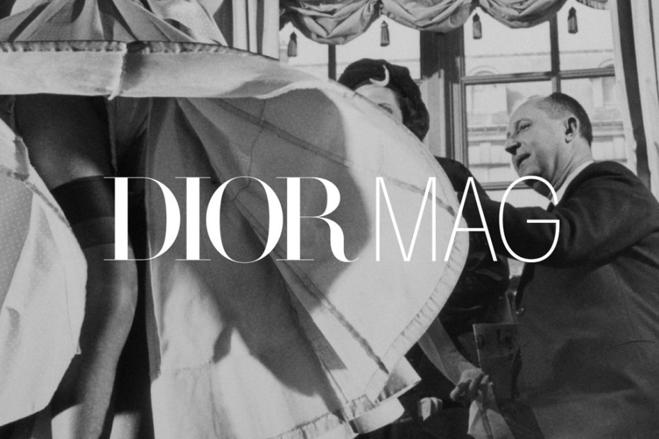 Image of Dior Mag Online Publication Launch 29/02 Issue