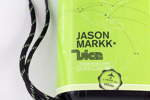 Image of DJ VICE x Jason Markk Travel Shoe Cleaning Kit