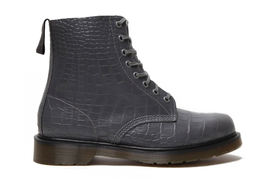 Image of Dr. Martens 2012 Spring/Summer Croco Pascal 8 Eye Boot
