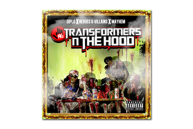 Image of FKi - Transformers N The Hood Mixtape