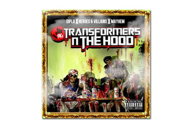 Image of FKi - Transformers N The Hood Mixtape