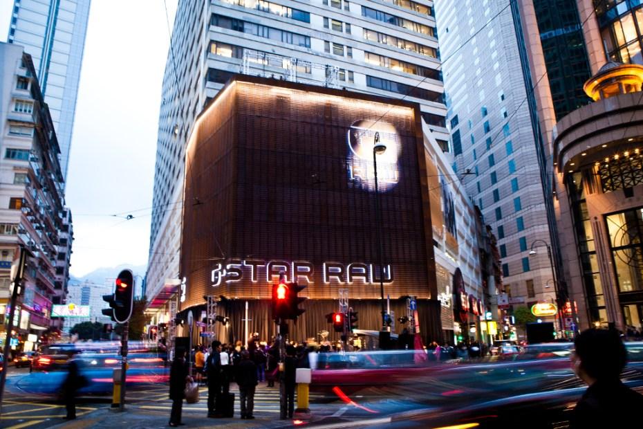 Image of G-Star RAW Flagship Store Hong Kong Grand Opening
