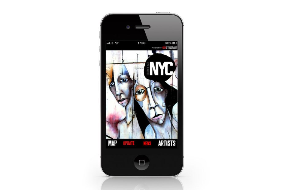Image of Geo Street Art x Street Art London & NYC iPhone App