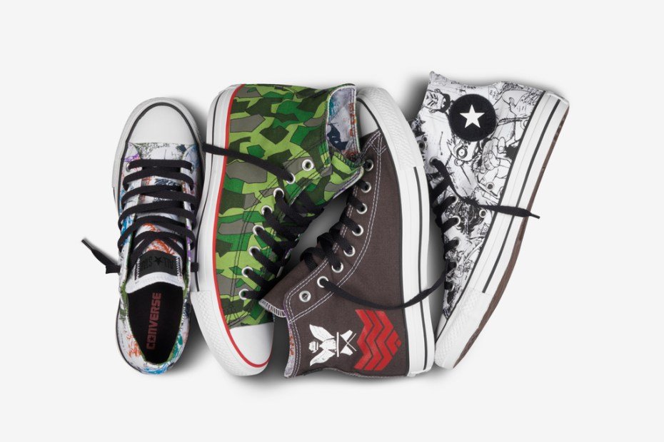 Image of Gorillaz for Converse Chuck Taylor All Star Collection