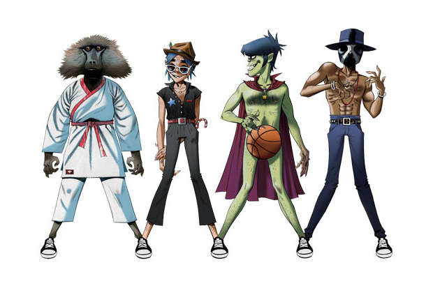 Image of Gorillaz, James Murphy & André 3000 – DoYaThing