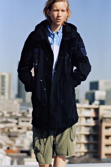 """Image of GRIND: uniform experiment 2012 Spring/Summer """"BLUE & BLACK"""" Editorial"""