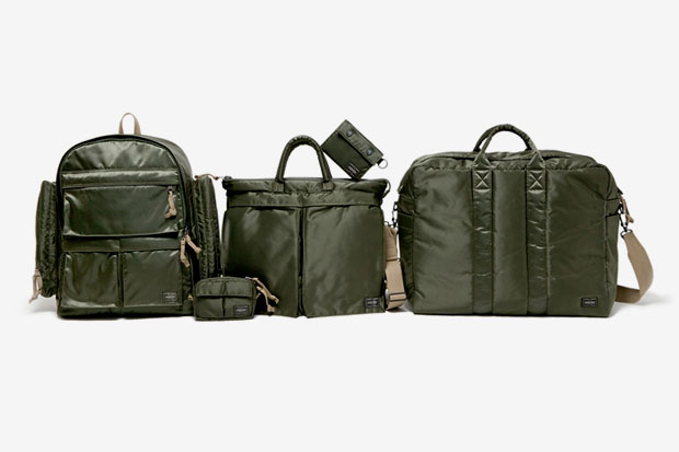 "Image of Head Porter 2012 Spring/Summer ""Tanker Olive Drab"" Series"