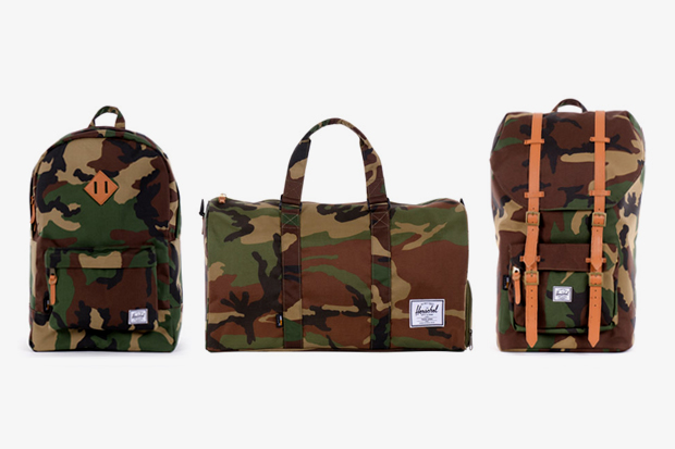 "Image of Herschel Supply Co. 2012 Spring/Summer ""Woodland Camo"" Collection"