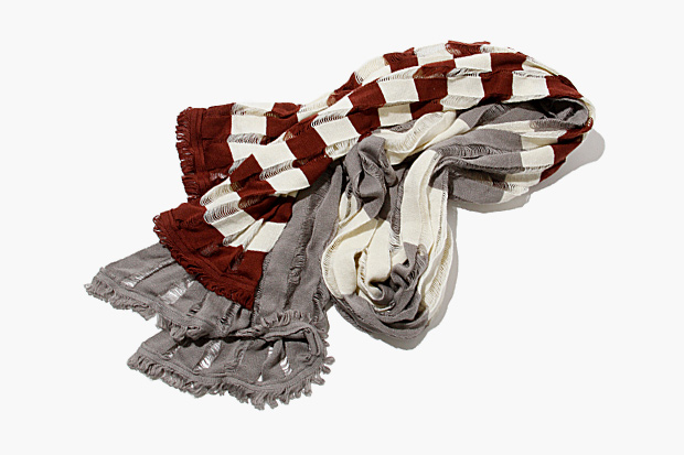 Image of hobo x Tricote Knit Border Stole