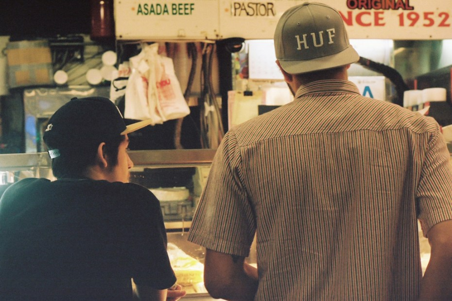 Image of HUF 2012 Spring Lookbook Part 1