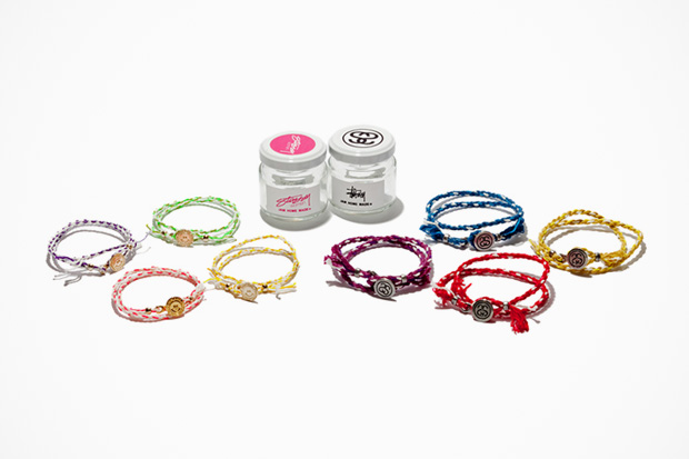 "Image of Stussy × JAM HOME MADE ""Rope Bracelet"""