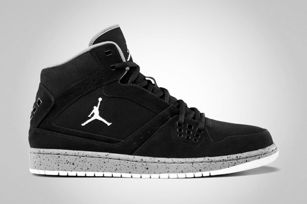 Image of Jordan 1 Flight &quot;Black/Cement Grey&quot;