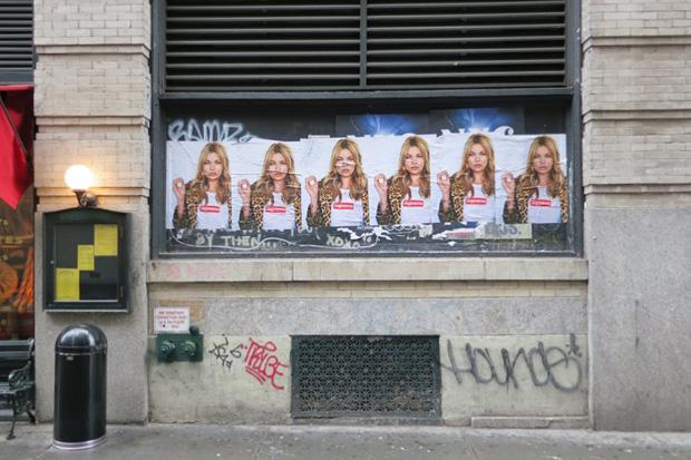Image of Kate Moss for Supreme 2012 Spring/Summer Teaser