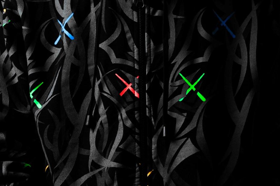 Image of KAWS x CLOT Alienegra Dissected Egra Parka