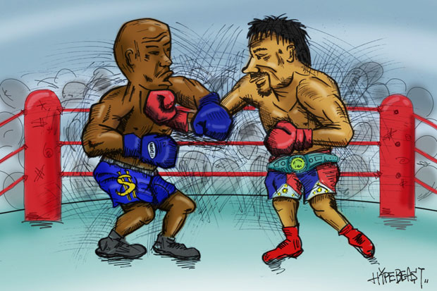 Image of Keeping Score: Who Has More to Lose, Pacquiao or Mayweather?