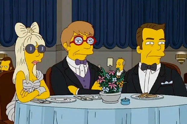Image of Lady Gaga Set for The Simpsons Season Finale