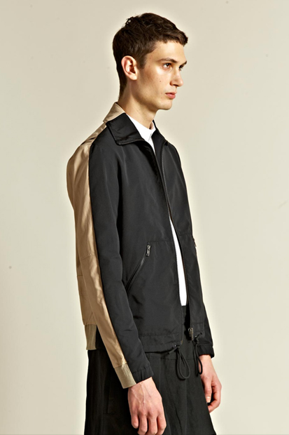 Image of Maison Martin Margiela 10 2012 Spring/Summer Leather Back Waterproof Jacket
