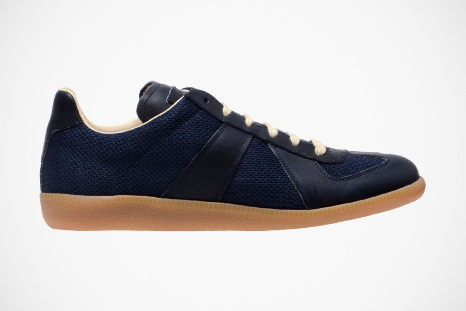 Image of Maison Martin Margiela 2012 Spring/Summer Leather & Mesh Replica Trainers