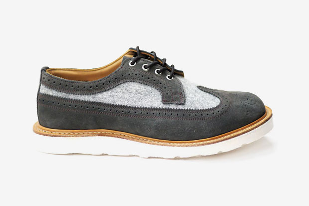 Image of Heather Grey Wall x Mark McNairy LONGWING BROGUE